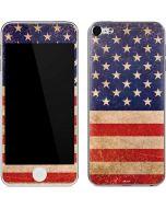 Distressed American Flag Apple iPod Skin