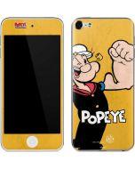 Popeye Flexing Apple iPod Skin