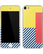 Color Blocks Apple iPod Skin