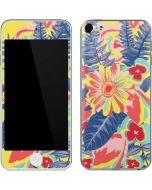 Mirrored Flowers Apple iPod Skin