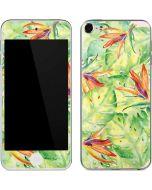 Floral Tropics Apple iPod Skin