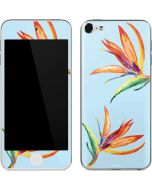 Birds of Paradise Summer Apple iPod Skin