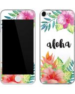 Aloha Apple iPod Skin