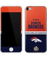 Denver Broncos Super Bowl 50 Champions Apple iPod Skin
