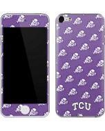 TCU Horned Frogs Logo Print Apple iPod Skin