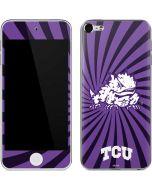 TCU Horned Frogs Mascot Swirl Apple iPod Skin