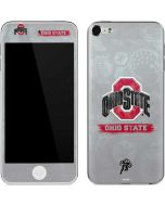 Ohio State Distressed Logo Apple iPod Skin