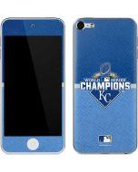 Kansas City Royals 2015 World Series Champions Apple iPod Skin