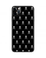 Skull and Crossbones (white) iPhone 11 Pro Max Skin
