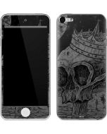 Skull Sketch Apple iPod Skin