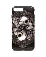 Skulls and Roses iPhone 7 Plus Pro Case