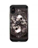 Skulls and Roses iPhone XS Max Cargo Case