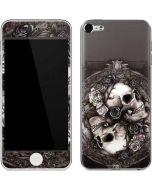 Skulls and Roses Apple iPod Skin