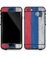 Slovenia Flag Distressed LifeProof Nuud iPhone Skin