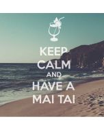 Keep Calm and Have A Mai Tai Amazon Echo Skin