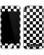 Sneakerhead Checkered Apple iPod Skin