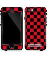 Sneakerhead Red Checkered LifeProof Nuud iPhone Skin