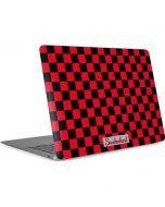 Sneakerhead Red Checkered Apple MacBook Air Skin