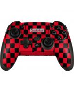 Sneakerhead Red Checkered PlayStation Scuf Vantage 2 Controller Skin