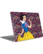 Snow White Floral Apple MacBook Air Skin