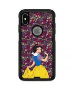 Snow White Floral Otterbox Commuter iPhone Skin