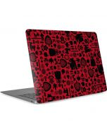 Snow White Icon Pattern Apple MacBook Air Skin