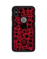 Snow White Icon Pattern Otterbox Commuter iPhone Skin