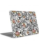 Snow White Roses Apple MacBook Air Skin