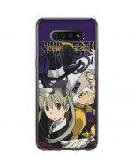 Soul Eater Purple LG K51/Q51 Clear Case