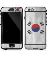 South Korean Flag Distressed LifeProof Nuud iPhone Skin