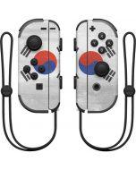 South Korean Flag Distressed Nintendo Joy-Con (L/R) Controller Skin