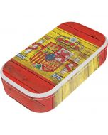 Spain Flag Dark Wood UV Phone Sanitizer and Wireless Charger Skin