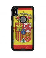 Spain Flag Distressed Otterbox Commuter iPhone Skin