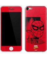 Hot Shot Spidey Apple iPod Skin