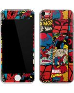 Spider-Man Action Grid Apple iPod Skin