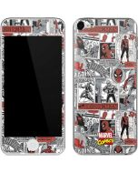 Spidey Comic Pattern Apple iPod Skin