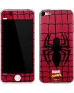 Spider-Man Chest Logo Apple iPod Skin