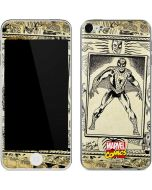 Spider-Man Comic Portrait Apple iPod Skin