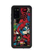 Spider-Man Action Grid Galaxy S20 Waterproof Case