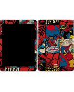 Spider-Man Action Grid Apple iPad Skin