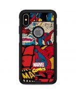 Spider-Man Action Grid Otterbox Commuter iPhone Skin