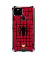 Spider-Man Chest Logo Google Pixel 5 Clear Case