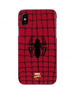 Spider-Man Chest Logo iPhone XS Max Lite Case