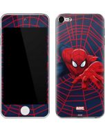 Spider-Man Crawls Apple iPod Skin