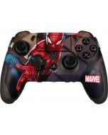 Spider-Man in City PlayStation Scuf Vantage 2 Controller Skin
