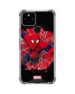 Spider-Man Lunges Google Pixel 5 Clear Case