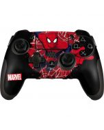 Spider-Man Lunges PlayStation Scuf Vantage 2 Controller Skin