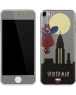 Spider-Man Skyline Noir Apple iPod Skin
