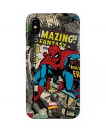 Spider-Man Vintage Comic iPhone XS Max Lite Case