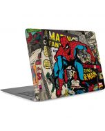 Spider-Man Vintage Comic Apple MacBook Air Skin